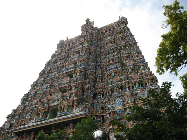 Ornate Meenakshi Temple