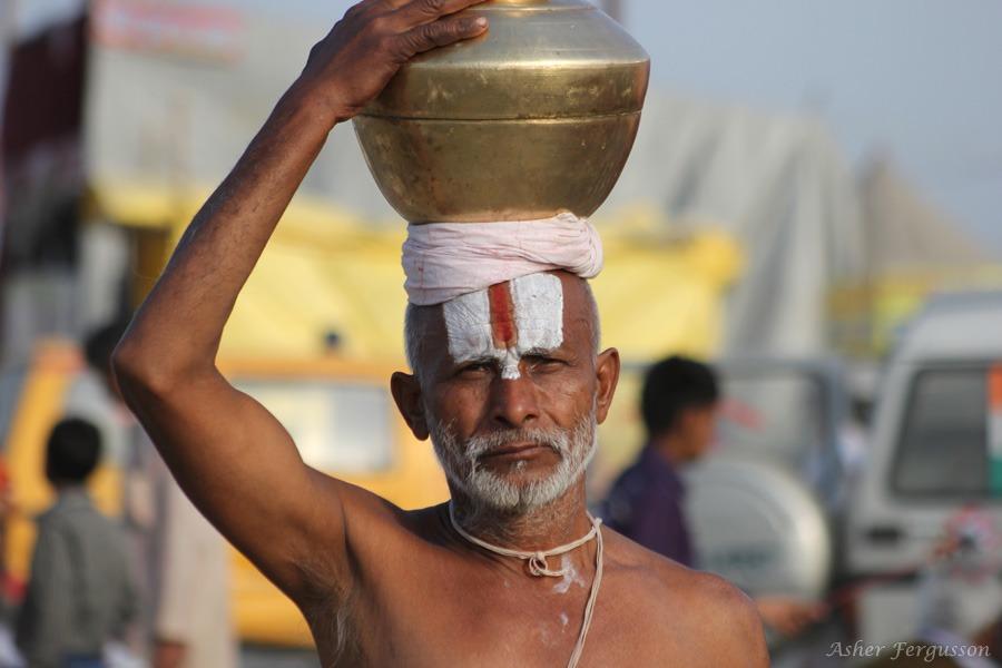 kumbha mela scene india