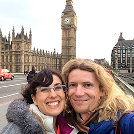 asher and lyric in london